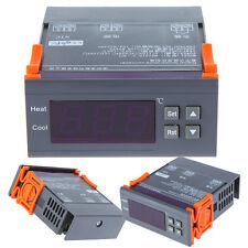 Automatic LCD Digital Temperature Control Controller Thermostat AC 200V-240V