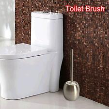 Acier Inoxydable Toilette Salle De Bain Brosse & Rond Support 1