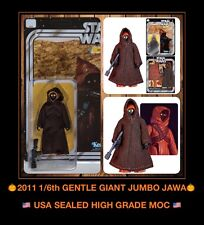 "USA SEALED Star Wars 12"" JAWA Kenner Gentle Giant Jumbo 2011 MOC back EXCLUSIVE"