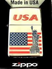 New listing Zippo 250 Status Flag Usa 250-72635