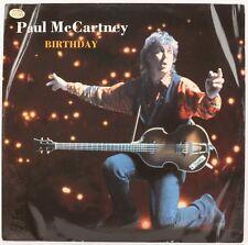 BIRTHDAY  PAUL MCCARTNEY Vinyl Record