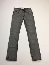 Para Hombre Levi 511 'Skinny Jeans Ajustados' / - W31 L34-Gris Wash-Excelente Estado