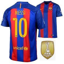 Trikot Nike FC Barcelona 2016-2017 Home WC - Messi 10 I Barca Weltmeister Badge