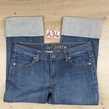 JAG DENIM Bondi Copped Capri Womens Jeans Size 10 Women's Jeans W30 L20.5 (A34)