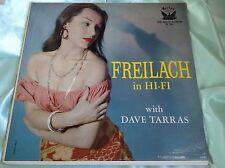 Rare Sexy Cheesecake LP : Dave Tarras ~ Freilach In Hi Fi ~ Vol. 3 ~ Lehrer