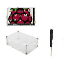 3.5 Inch TFT LCD Moudle Touch Screen Screwdriver + Case Acrylic 2+ B+ 3 Pi