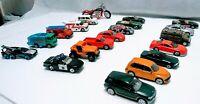 Lot of 19 cars 1 bicycle Johnny Lightning, Hot Wheels, Matchbox, Maisto No Junk