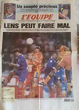 L'Equipe Journal 12/03/1998; Crétier et Masnada/ Lens peut faire Mal/ Paris-Nice