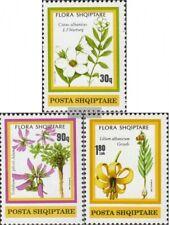 Albania 2470-2472 (edición completa) nuevo 1991 floreciente plantas