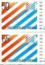 Nederland Maximumkaart(en) R39-40 W afgestempeld op 1e dag van uitgifte 1982