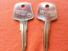 2 AUSTIN MINI 1000 MARINA KEY BLANKS 1973 - 1981 X50