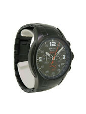 Breil Milano Black S BW0167 Men's Olive Chronograph Date Stainless Steel Watch