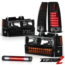 Chevrolet Silverado Crew Extended Smoke LED Tail Light Cargo Headlight CK Series
