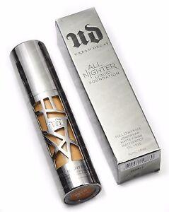 Urban Decay All Nighter Liquid Foundation 30 ml. / 1.0 fl. oz. choose your shade