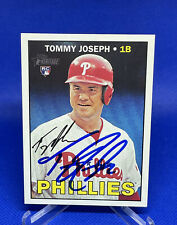 Tommy Joseph IP Auto Autograph 2016 Topps Heritage #686 RC Rookie - Phillies