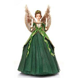 Katherine's 2021 Collection Evergreen Lane Bell Angel Figurine.