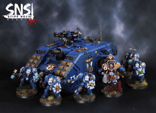 SNS Pro Painted Warhammer 40K Ultramarines Army contains Forge World!!