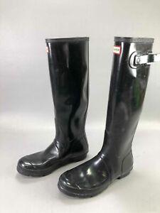 Black Hunter Rain Boots, Sz. US8