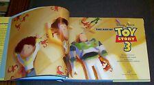SIGNED 2X! Lee Unkrich & Darla K. Anderson ART OF TOY STORY 3 Disney PIXAR