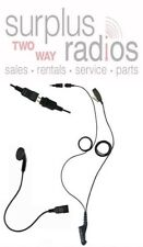 OTTO 2 WIRE QUICK RELEASE EARBUD HEADSET MOTOROLA XPR6550 XPR6500 XPR6350 TORBO