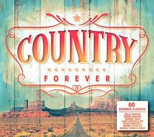 Country Forever (CD, 2019, 3-Discs, Various Artists)