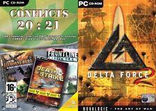 Conflicts 20:21 Frontline Berlin 1945/Airborne Hero/Death Strike & delta force 2