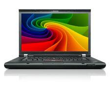 Lenovo ThinkPad T520 i7 2,70GHz 8GB 256GB SSD 1600x900 Webcam Windows 10 NVIDIA