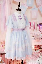 Cosplay Sweet Love Lolita Chinese Ancient Han Costume Rabbit Baby Blue Dress