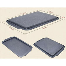 Nonstick Bakeware Baking Toast Pan Durable Carbon Steel Shallow tray (large)