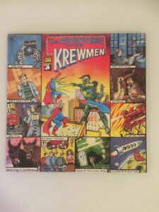 ♫ LP 1986 The Krewmen ADVENTURES  Lost Moment LMLP 008 UK Rare Erstpressung NM ♫