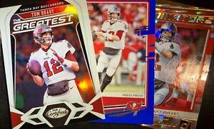 Tom Brady Tampa Bay Bucs NFL 3 Card Lot💥💥💥