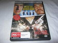 Never Say Never Mind + The Prosecutor - DVD - Region 4