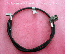 """NEW 27"""" COAXIAL CABLE w/ SUHNER MALE N & MALE SMA CONNECTORS - Free Ship"""