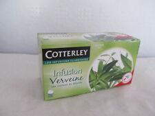 Cotterley, Verveine Tee, Eisenkraut Tee 25 Beutel 40 g