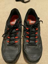 Nike Black Red/Orange Dual Fusion Run 3 Fitsole Trainers Size UK 9
