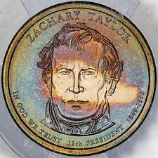 2009-P ZACHARY TAYLOR DOLLAR ANACS SP69 SATIN-FINISH PRESIDENTIAL DOLLAR UNC