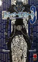 Death Note N° 3 - Ristampa - Planet Manga - ITALIANO NUOVO #NSF3