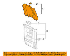 GM OEM-Door Interior Trim Panel-Upper Left 15843200