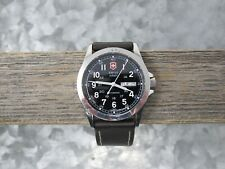 Swiss Army Vintage 24695 Victorinox Infantry Mens Watch Automatic, Working/Clean