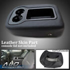 Armrest Console Jump Seat Cover Top Fit For 07-2013 Silverado Tahoe Sierra Black
