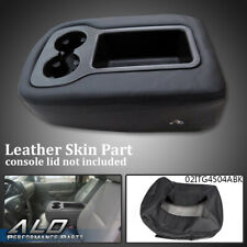 Armrest Console Jump Seat Cover Top For 2007-2013 Silverado Tahoe Sierra Black