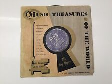 Vintage Music Treasures of the World vinyl /LP/ albums record for Player