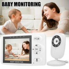 "Baby Monitor Wireless 3.5"" Video Camera with Night Vision Two-Way Audio Intercom"