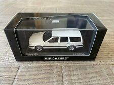 Minichamps 1/43 Volvo 850 Break 1996 white 'Vit' n°430 171412  very rare, nice