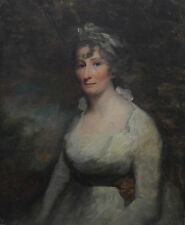 cir SIR HENRY RAEBURN 1756-1823 SCOTTISH OLD MASTER PORTRAIT OIL PAINTING ART
