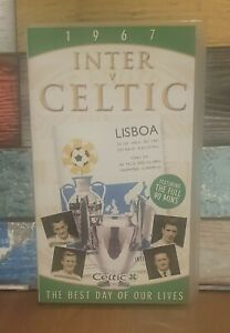 """INTER V CELTIC 1967-""""THE BEST DAY OF OUR LIVES""""-2002-VHS VIDEO"""