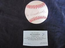 RAY DANDRIDGE (HOF) signed autographed auto baseball ball - authentic 1992