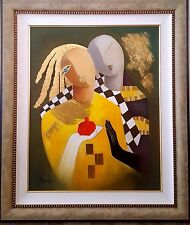 """Arbe - """"Fruitful"""" Original Oil on Canvas. Hand Signed with Cert of Auth"""