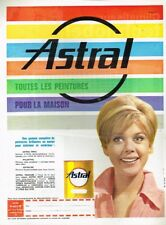 F- Publicité Advertising 1963 La peinture Astral