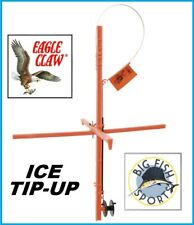 EAGLE CLAW ORANGE PLASTIC ICE TIP UP Length  FREE USA SHIPPING! NEW! FOLDING